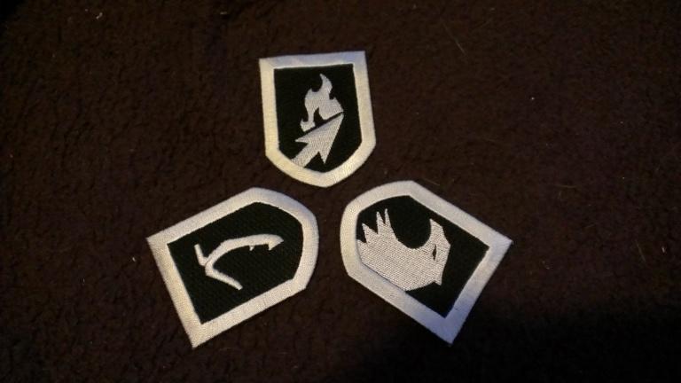 Iron-On Badges
