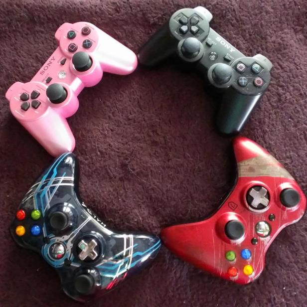 My various controllers.