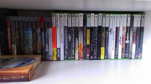 An inside look at my physical game collection.