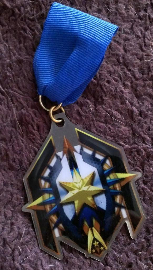 I acquired this Long Service Medal from PAX Prime 2011 as well, it was given to people who demo'd Mass Effect 3.