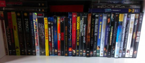 An outside look at some of my movies.