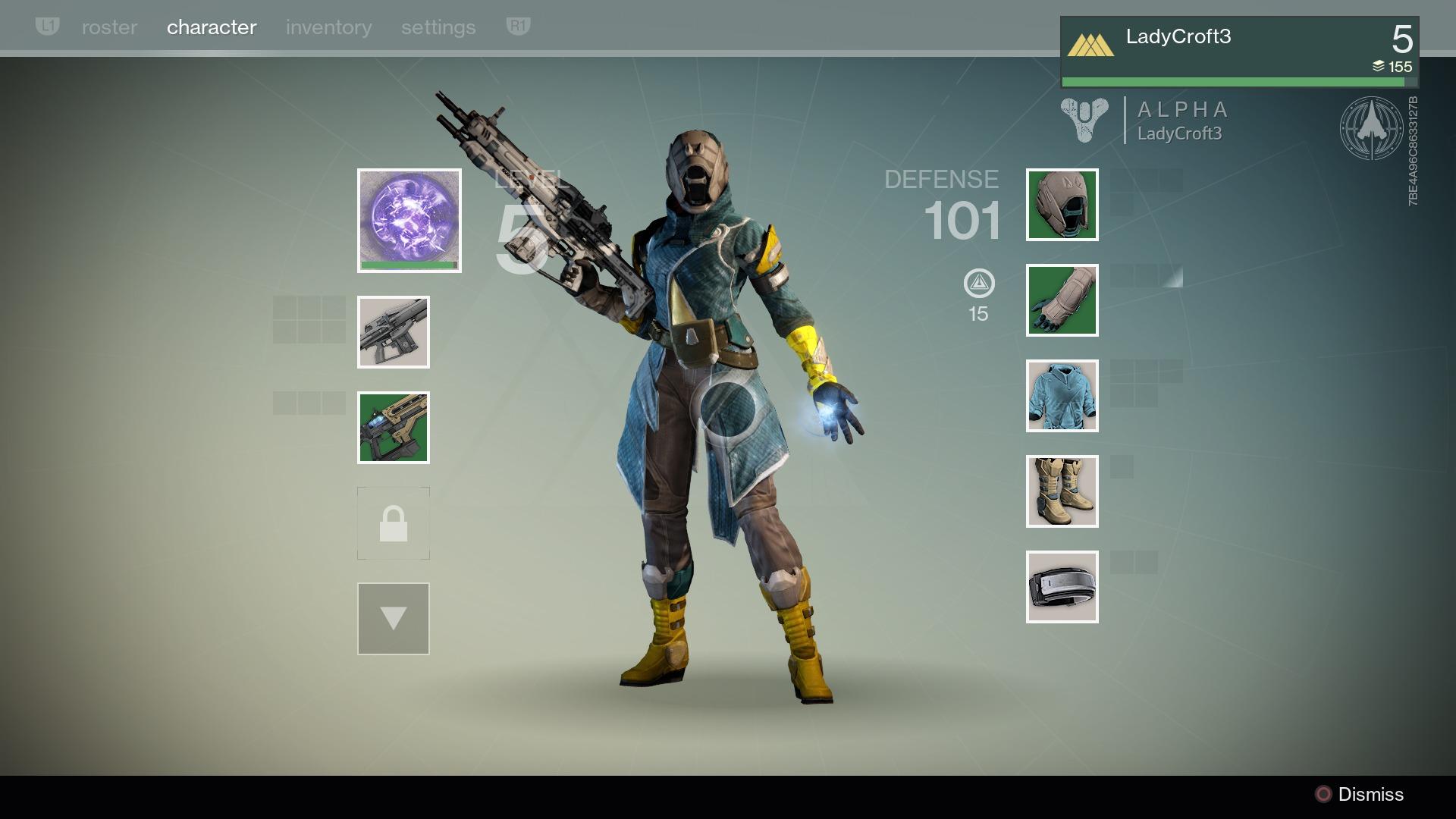 destiny gear menu ile ilgili görsel sonucu