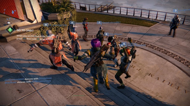 Community dancing!