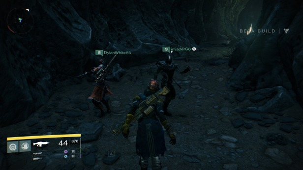 The best way to wind down after a battle is a little Fireteam dance party.