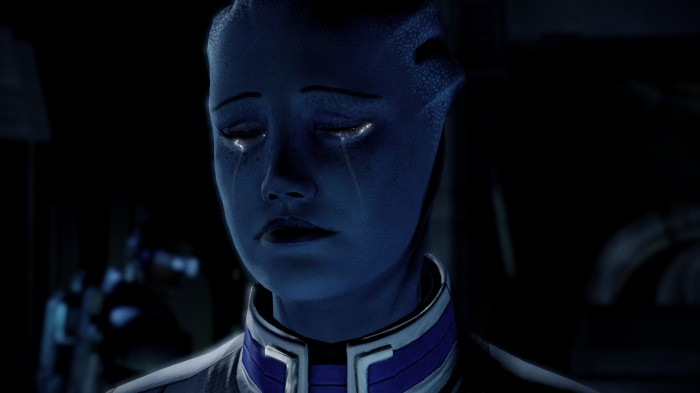 I feel you, Liara.